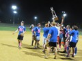2013 Champions: DICK TATERS celebrate after a decisive win