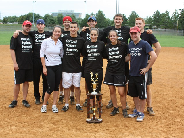 The 2014 Runners-up: Softball for Humanity