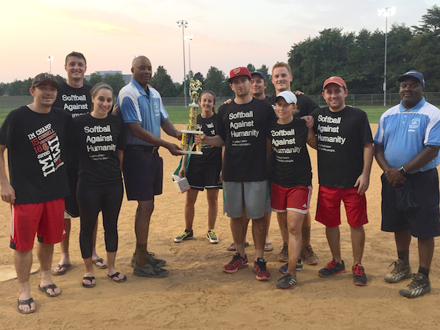 The 2016 Third Place Team: Softball Against Humanity