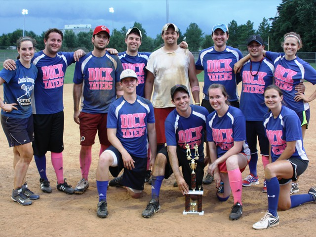 The 2014 Third Place Team: Dick-Taters