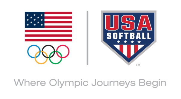 USA Olympic Softball Logo